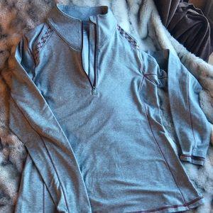 Warm Long Sleeve Pullover w/ Thumb Holes